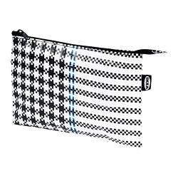 SAMMANKOPPLA - Kotak, hitam/putih