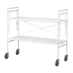 SAMMANKOPPLA - Shelving unit, white