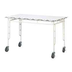 SAMMANKOPPLA - Table, white/black