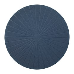 PANNÅ - Place mat, dark blue
