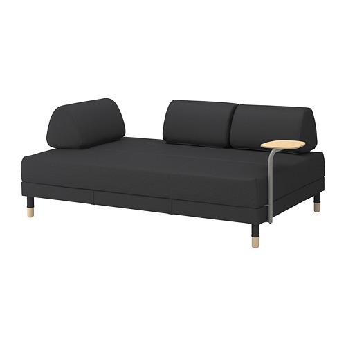 FLOTTEBO sofa tempat tidur dg meja samping