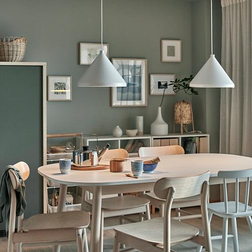 NÄVLINGE - lampu gantung, putih, 33 cm | IKEA Indonesia - PH167228_S4