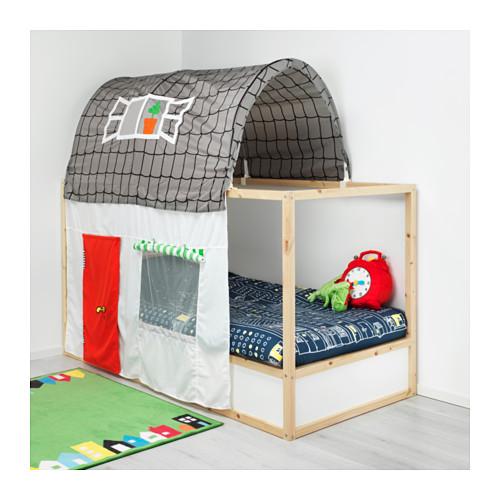 KURA tenda tempat tidur dengan tirai