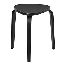 KYRRE - Stool, black