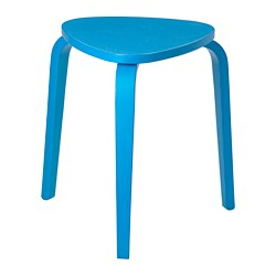 KYRRE - Stool, blue