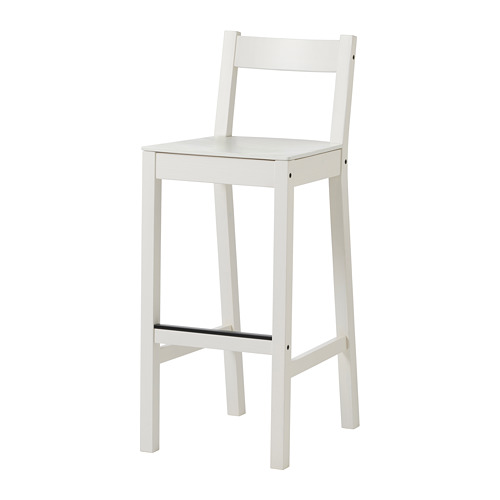 NORDVIKEN kursi bar dengan sandaran