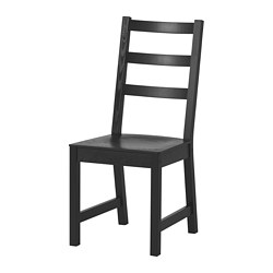 NORDVIKEN - Chair, black