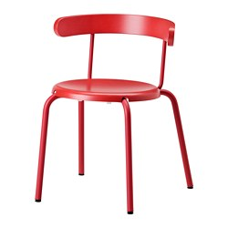 YNGVAR - Chair, red