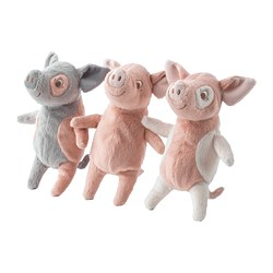 KELGRIS - Soft toy, pig assorted designs