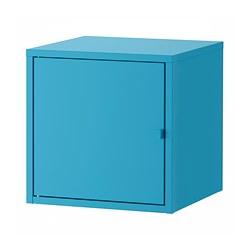 LIXHULT - Kabinet, logam/biru