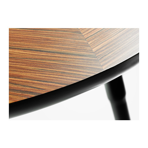 LÖVBACKEN - meja samping, cokelat medium, 77x39 cm | IKEA Indonesia - PE370733_S4
