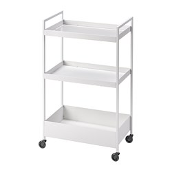 NISSAFORS - Trolley, white