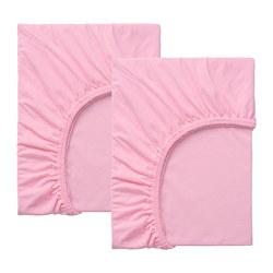 LEN - Seprai brkaret u tmpt tdr pjg, is 2, merah muda