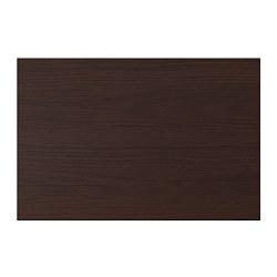 ASKERSUND - Bagian depan laci, cokelat tua efek kayu ash