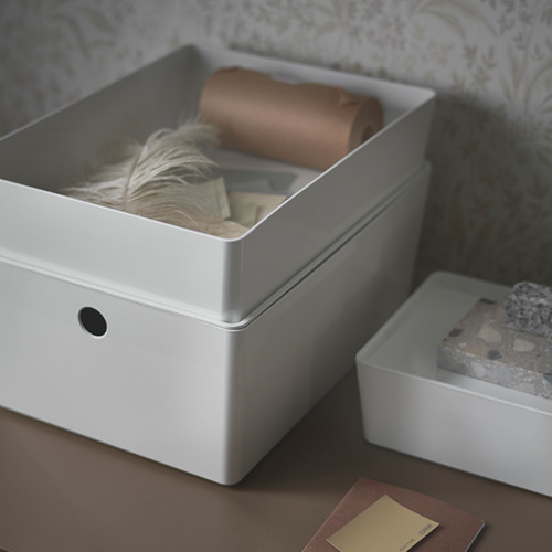 KUGGIS kotak dengan penutup