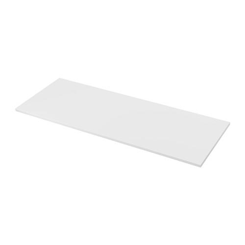 EKBACKEN permukaan meja dapur, dua sisi