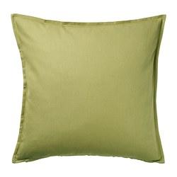 GURLI - Sarung bantal kursi, hijau-zaitun, 50x50 cm
