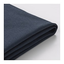 VIMLE - Sarung u bag sofa tmpt tidur 2 ddkn, Orrsta hitam-biru