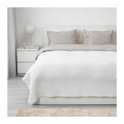 VÅRELD - Penutup tempat tidur , putih