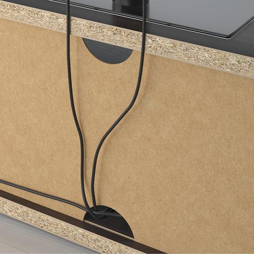 MOSJÖ - meja TV, hitam-cokelat, 90x40x38 cm   IKEA Indonesia - PE730641_S4