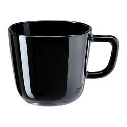 BACKIG - BACKIG, mug, hitam, 37 cl