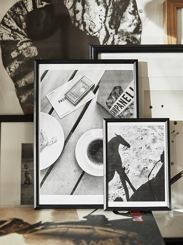YLLEVAD - bingkai, hitam, 21x30 cm | IKEA Indonesia - PE785010_S4