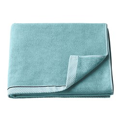 VIKFJÄRD - Bath towel, light blue