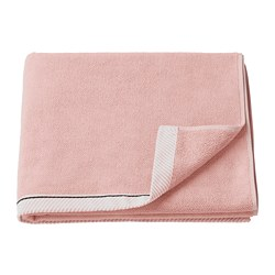 VIKFJÄRD - Handuk mandi, merah muda terang, 70x140 cm