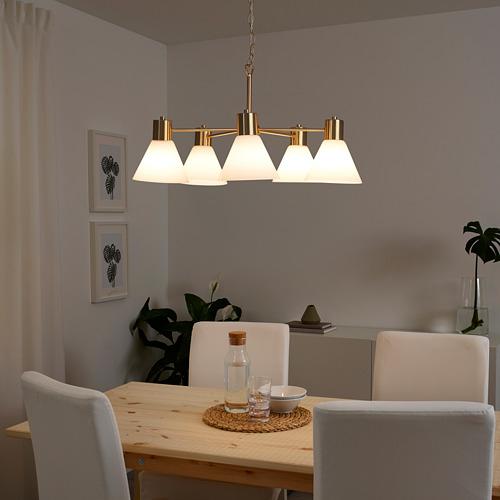 FLUGBO lampu chandelier, 5 tangan