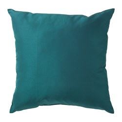 ULLKAKTUS - Cushion, dark blue-green