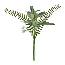 SMYCKA - Bouquet tiruan, dalam/luar ruang hijau