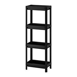 VESKEN - Shelf unit, black