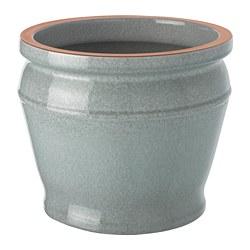 BÄRMÅLLA - Pot tanaman, dalam/luar ruang biru-hijau