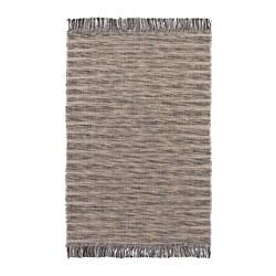 TAULOV - Karpet, anyaman datar, krem