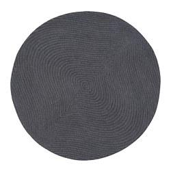 VOSTRUP - Karpet, bulu tipis, abu-abu muda
