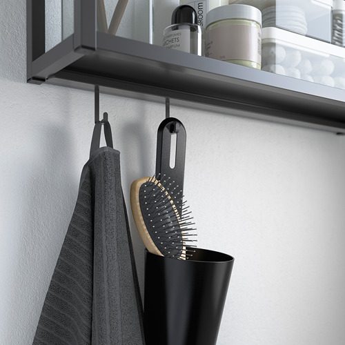 ENHET - rel untuk pengait, antrasit, 37 cm | IKEA Indonesia - PE785957_S4