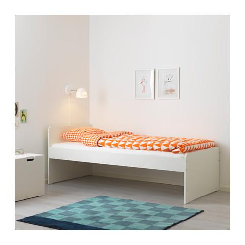 SLÄKT rangka tempat tidur