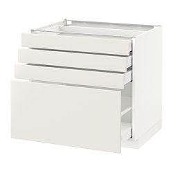 METOD - Base cab 4 frnts/4 drawers