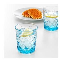FLIMRA - Gelas, berpola/biru
