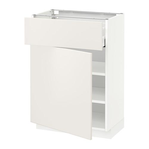 METOD/MAXIMERA kabinet dasar dengan laci/pintu