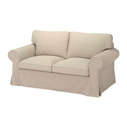 EKTORP - Sofa 2 dudukan, Hallarp krem