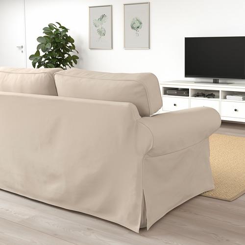 EKTORP - sofa 3 dudukan, Hallarp krem | IKEA Indonesia - PE774472_S4