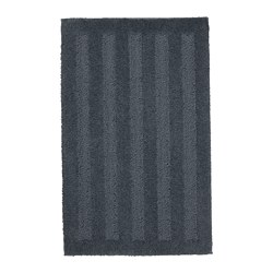 EMTEN - Bath mat, dark grey