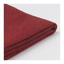 LIDHULT - Sarung u bag sofa tmpt tidur 2 ddkn, Lejde merah-cokelat
