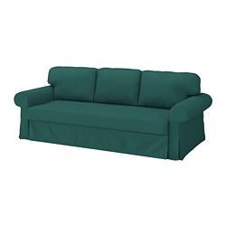 VRETSTORP - Sofa tempat tidur 3 dudukan, Totebo toska tua