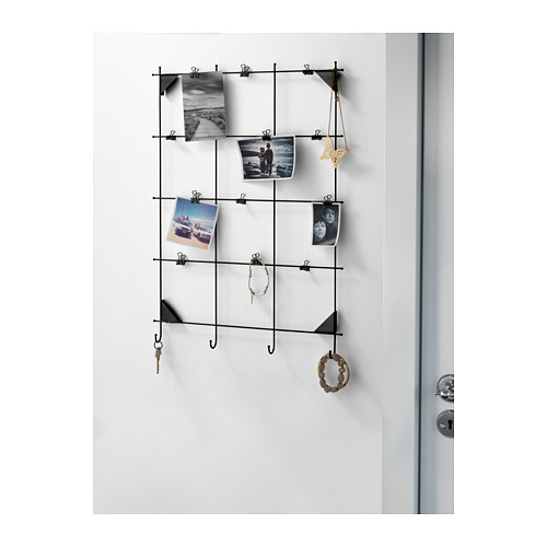 MYRHEDEN memo board with clips