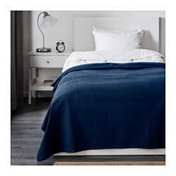 INDIRA - Penutup tempat tidur , biru tua