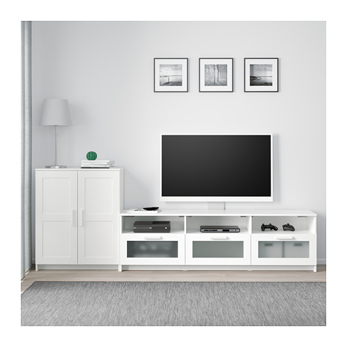 BRIMNES TV storage combination