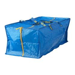 FRAKTA - Trunk for trolley, blue