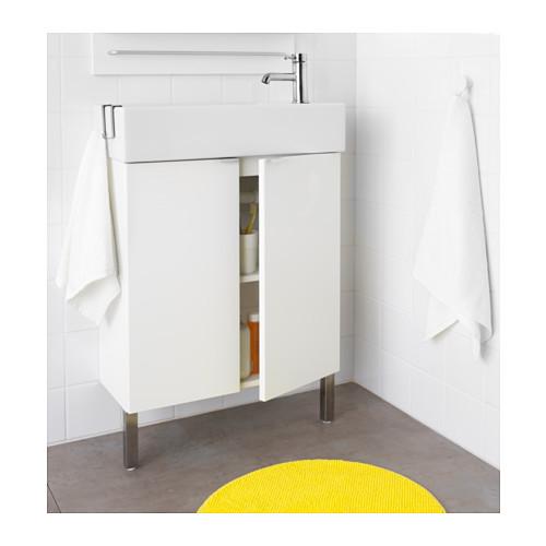 LILLÅNGEN kabinet wastafel dengan 2 pintu